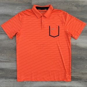 Nike Tour Performance Polo (Orange)